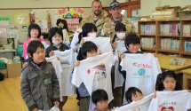 minato shogakko disaster relief tshirts